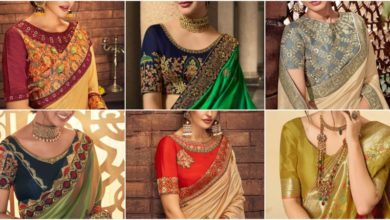 Photo of Party Wear Saree Blouse Designs