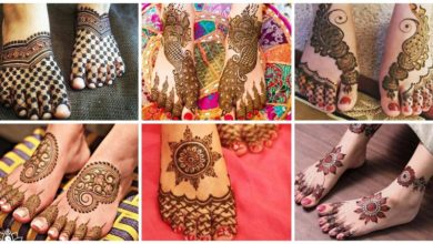 Photo of Beautiful Mehndi Designs for Feet