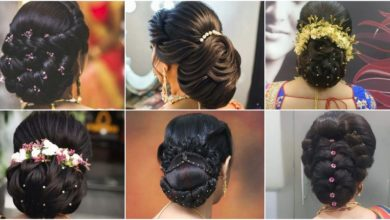 Photo of Indian Wedding And Reception Hairstyle