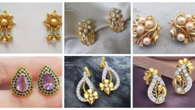 Photo of Latest gold ear-studs designs
