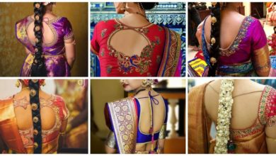 Photo of Bridal blouse back designs