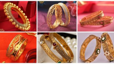 Photo of Most Prettiest Antique Gold Bangle Design