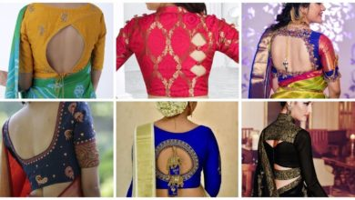 Photo of Blouse Back Neck Designs