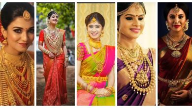 Photo of Bridal Makeup and Traditional Jewelry Ideas