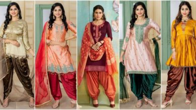 Photo of Latest Punjabi Suit Design, New Patiala Salwar Kameez Designs