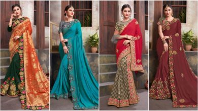 Photo of Images Of Indian Latest Engagement Saree Designs
