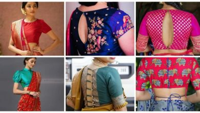 Photo of Most beautiful blouse design