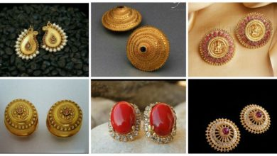 Photo of Outstanding Gold Studs And Gold Earrings Designs