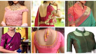 Photo of Beautiful Sari Blouse Design
