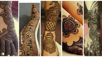 Photo of Beautiful Mehndi Designs for Legs