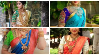 Photo of Trendy South Indian Bridal Saree Blouse Designs