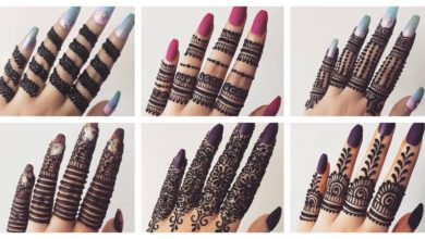 Photo of Beautiful Mehndi Designs for Fingers