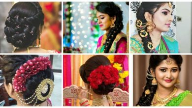 Photo of Latest Indian Bridal Wedding Hairstyles