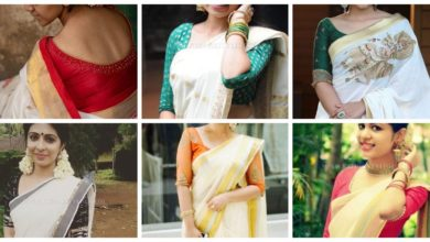 Photo of Traditional sari blouse design