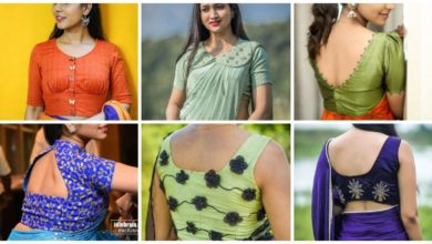 Photo of Stunning saree blouse neck designs