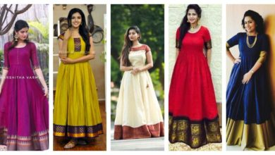Photo of GOWNS & DRESS IDEAS FROM OLD SAREES
