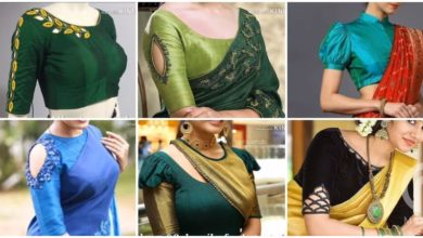Photo of Blouse Sleeves Designs