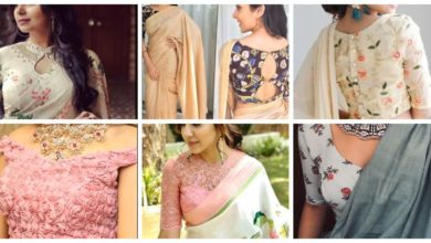 Photo of Latest Floral Blouse Designs