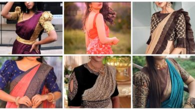Photo of Beautiful Sari Blouse Designs