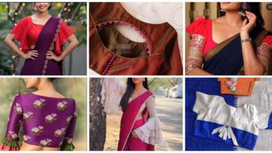 Photo of Trendy Sari Blouse Design