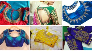 Photo of Designer blouse design
