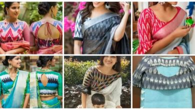 Photo of Simple printed blouse ideas