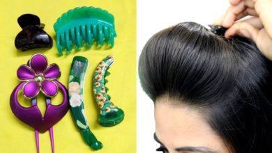 Photo of How To Use Hair ClutcherTo Make Quick & Easy Hairstyles/Hair Puff, ponytail & bun