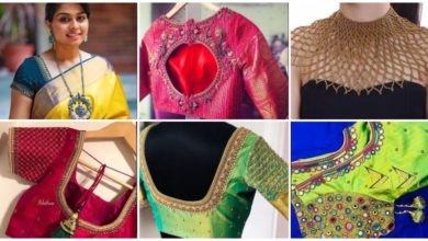 Photo of Simple New Blouse Designs