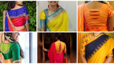 Photo of Indian saree blouse designs