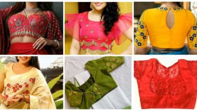 Photo of Top Beautiful Sari Blouse Design