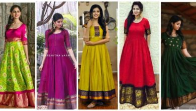 Photo of GOWNS IDEAS FROM OLD SAREES