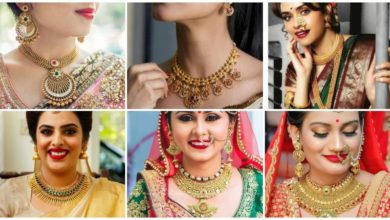 Photo of Bridal gold necklace designs