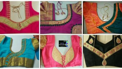 Photo of Latest blouse neck designs