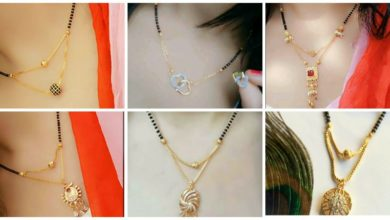 Photo of Cute Pendent Mangalsutra Designs