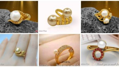 Photo of Latest sea pearl gold ring design
