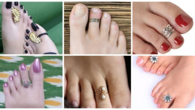 Photo of Stylish gold silver toe rings for women