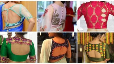 Photo of Blouse neck design
