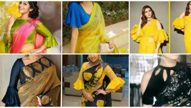 Photo of Blouse Sleeve Designs