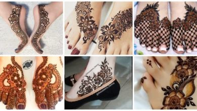 Photo of Simple Feet Mehndi Designs Ideas