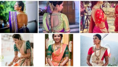 Photo of Latest Bridal Blouse Designs