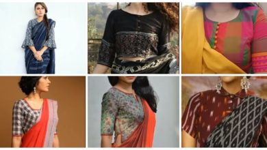Photo of Cotton blouse designs