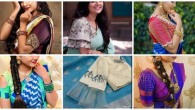 Photo of Latest Designer Blouse Sleeves Designs to look Gorgeous