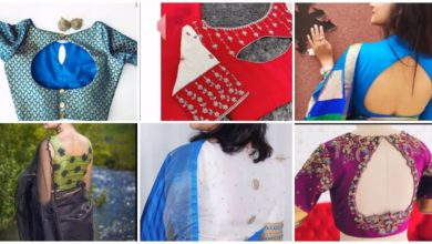 Photo of Trendy Sari Blouse Designs