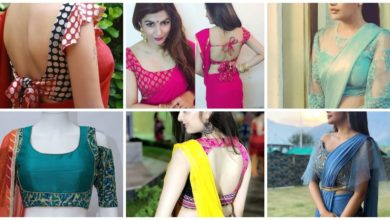 Photo of Latest blouse design