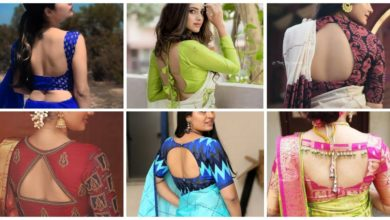 Photo of Latest Trending Sari Blouse Back Design