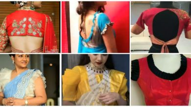 Photo of Latest Blouse Neck Design