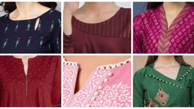 Photo of Latest kurti neck design