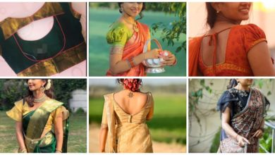 Photo of Stylish Sari Blouse Design