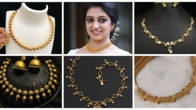 Photo of Latest simple gold necklace designs