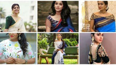Photo of Stylish saree blouse design
